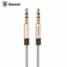 Кабель Baseus Fluency Series AUX Audio Cable 1.2 м Luxury Gold для iPhone/iPad/iPod