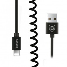 Кабель Baseus Elastic Data Cable Black для iPhone/iPad/iPod