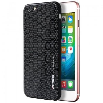 Чехол пластиковый REMAX Gentlemen Series Honey Comb Black для iPhone 7/8