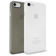 Чехол силиконовый O!coat Jelly Pocket 2 in 1 Card Holder Black/Clear для iPhone 7 Plus/8 Plus