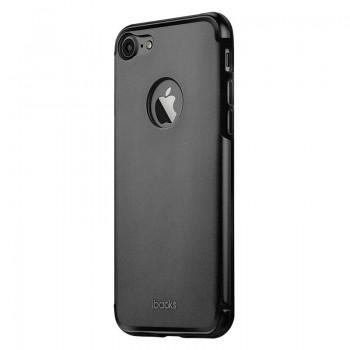 Чехол iBacks Essence Aluminum Black для iPhone 7/8