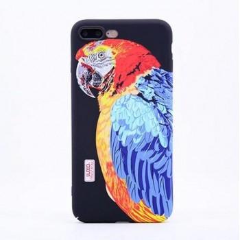 Чехол пластиковый Luxo Glow Animal Попугай для iPhone 7/8