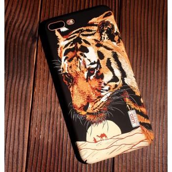 Чехол пластиковый Luxo Glow Animal Tiger 2 для iPhone 7/8