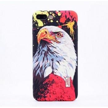 Чехол пластиковый Luxo Glow Animal Eagle для iPhone 7/8