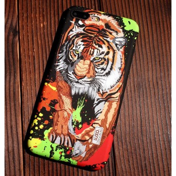 Чехол пластиковый Luxo Glow Animal Tiger для iPhone 7/8