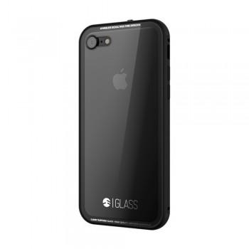 Чехол стеклянный SwitchEasy Glass Clear Black для Apple iPhone 7/8