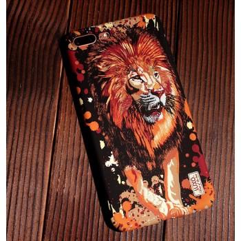 Чехол пластиковый Luxo Glow Animal Lion для iPhone 7/8