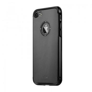 Чехол iBacks Diamond Rings Black для iPhone 7/8