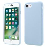 Чехол силиконовый Coteetci Silicon Светло Синий для iPhone 7/8