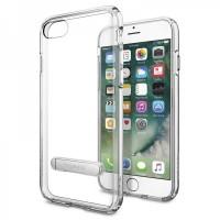 Чехол пластиковый Spigen Case Neo Hybrid Crystal Gun Metal для iPhone 7 Plus/8 Plus