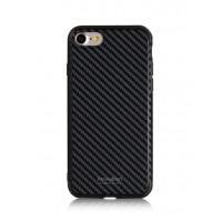 Чехол пластиковый WK Roxy Black Chrome для Apple iPhone 7 Plus/8 Plus