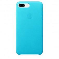 Чехол Apple Leather Case Blue для iPhone 7 Plus/8 Plus