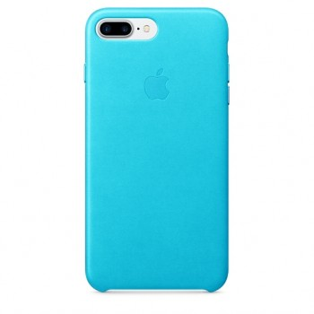 Чехол Apple Leather Case Blue для iPhone 7 Plus/8 Plus