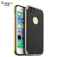Чехол пластиковый iPaky New Hornet Series Gold для iPhone 7/8