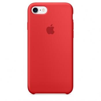 Чехол силиконовый Apple Silicone Case Scarlet Red для iPhone 7/8