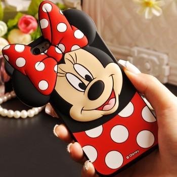 Чехол резиновый 3D Cute Minnie Mouse Soft Silicone Rubber Back для iPhone 7/8