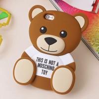 Чехол резиновый 3D Cute Cartoon Bear Toy Brown Soft Silicone для iPhone 7/8