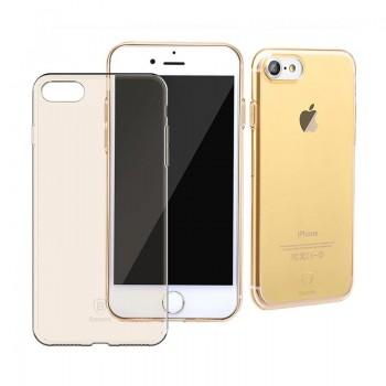 Чехол прозрачный Baseus Simple Gold для Apple iPhone 7/8