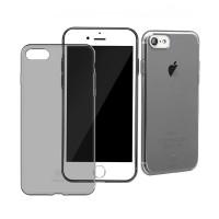 Чехол прозрачный Baseus Simple Black для Apple iPhone 7/8