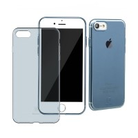 Чехол прозрачный Baseus Simple Blue для Apple iPhone 7 Plus/8 Plus
