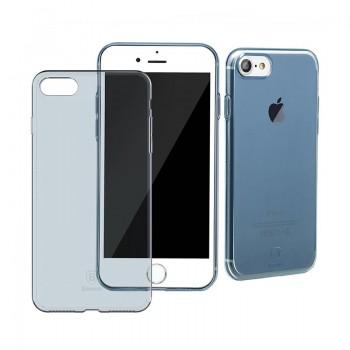 Чехол прозрачный Baseus Simple Blue для Apple iPhone 7/8