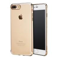 Чехол пластиковый Baseus Shining Gold для Apple iPhone 7/8 Plus