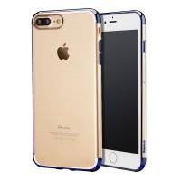 Чехол пластиковый Baseus Shining Blue для Apple iPhone 7/8 Plus