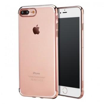 Чехол пластиковый Baseus Shining Rose для Apple iPhone 7/8 Plus