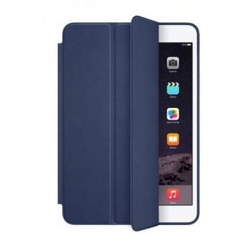 "Чехол Apple Leather Smart Case Dark Blue для iPad 9.7"" (2017/2018)"
