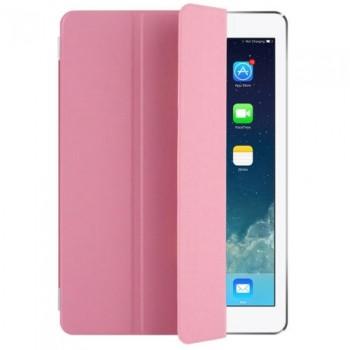 "Чехол Apple Leather Smart Case Light Pink для iPad 2017 10.5"""