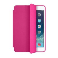 Чехол Apple Leather Smart Case Hot Pink для iPad 2017 10.5""