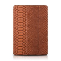 Чехол Verus Snake Leather Case Brown для iPad 2017