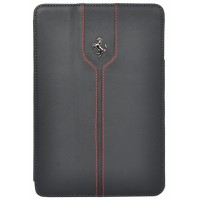 "Чехол Ferrari Montecarlo Leather Black для iPad 9.7"" (2017/2018)"
