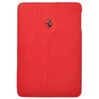 "Чехол Ferrari Montecarlo Leather Red для iPad 9.7"" (2017/2018)"