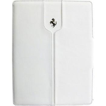 "Чехол Ferrari Montecarlo Leather White для iPad 9.7"" (2017/2018)"