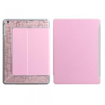 Чехол с орнаментом iBacks Flame Pink для iPad Air