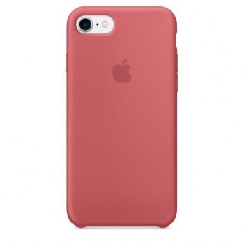 Чехол силиконовый Apple Silicone Case Camellia для iPhone 7/8