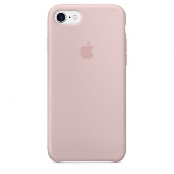 Чехол силиконовый Apple Silicone Case Pink Sand для iPhone 7/8