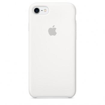 Чехол силиконовый Apple Silicone Case White для iPhone 7/8