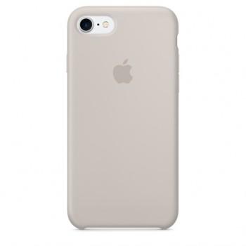 Чехол силиконовый Apple Silicone Case Stone для iPhone 7/8