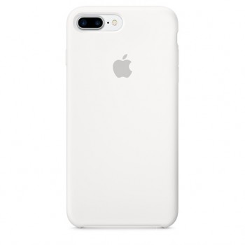 Чехол силиконовый Apple Silicone Case White для iPhone 7 Plus/8 Plus