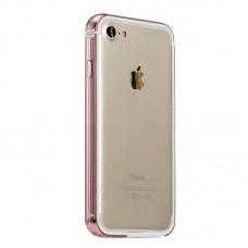 Бампер металлический Coteetci Pink для Apple iPhone 7/8