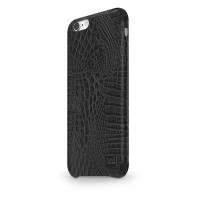 Чехол CaseStudi Croco Black для Apple iPhone 7/8