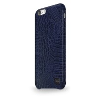 Чехол CaseStudi Croco Dark Blue для Apple iPhone 7/8
