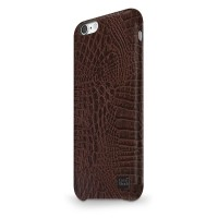 Чехол CaseStudi Croco Dark Brown для Apple iPhone 7/8