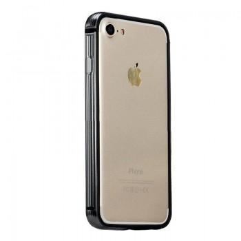 Чехол-бампер пластиковый Coteetci Black для Apple iPhone 7/8