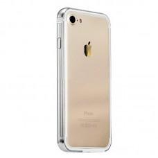 Чехол-бампер пластиковый Coteetci Silver для Apple iPhone 7/8