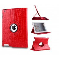 Чехол поворотный 360 Rotating Red для iPad Air