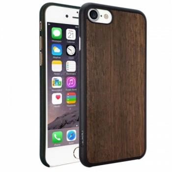 Чехол O!coat 0.3+ Wood case Ebony для iPhone 7/8