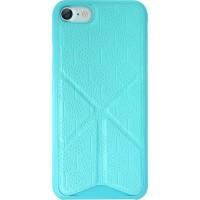 Чехол пластиковый O!coat 0.3+Totem Versatile Blue для iPhone 7/8